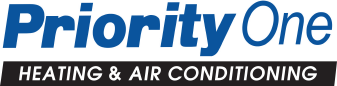 Priority One Heating & Air Conditioning Logo