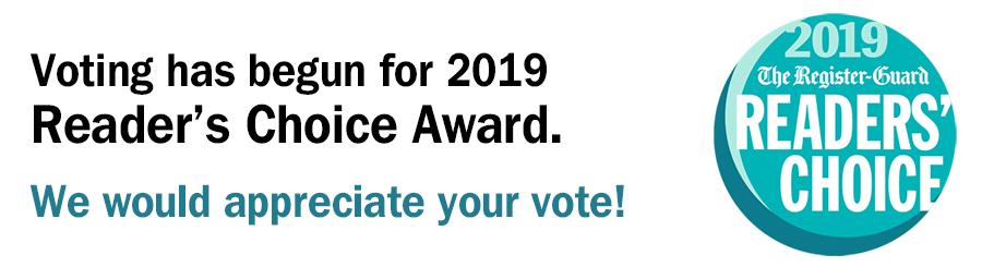 2019 Reader's Choice Award Vote