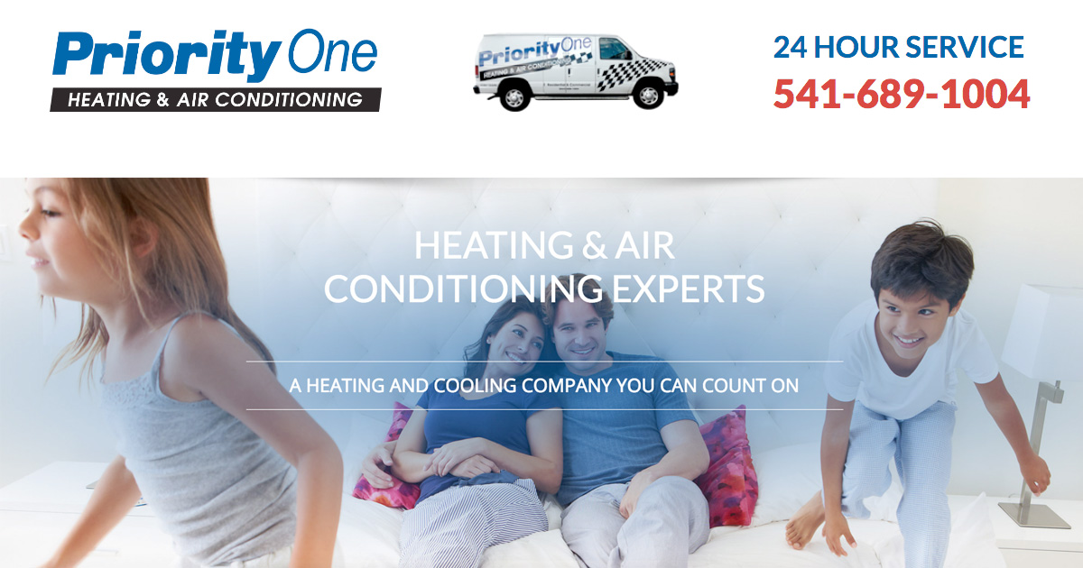 Priority One Eugene S Leading Heating Air Contractors Hvac Ductless