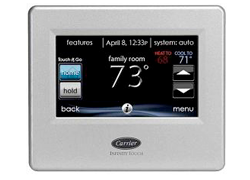 Carrier Infinity Touch Screen